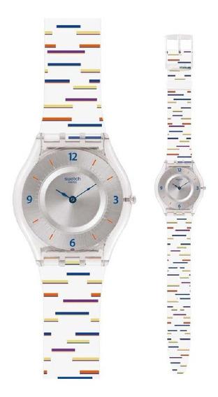 Relógio Swatch Thin Liner - Sfe108