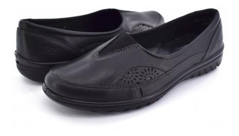Zapato Confortflexi 35303 Negro 22.0-27.0 Damas