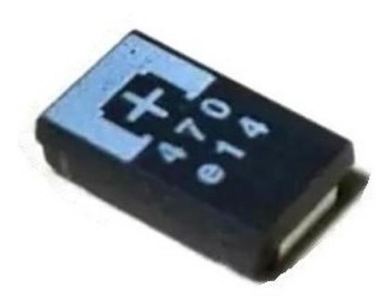 Capacitor Tantalo 470uf 2,5v Ps3 2r5tpe470m9 # Kit / 10 Pçs