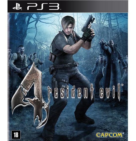 Jogo Ps3 Resident Evil 4 Psn Game Play 3 Jogos Playstation 3