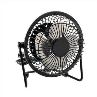 Ventilador Usb Portátil 15cm Para Pc, Metálico / Ajustable