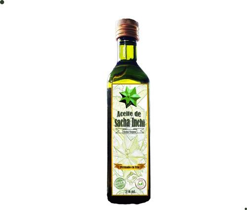 Imagen 1 de 2 de Aceite De Sacha Inchi 250 Cc - L a $180