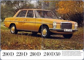 Mercedes Benz 1974 - 240 D - Oportunidade Barata-5 Mil Reais