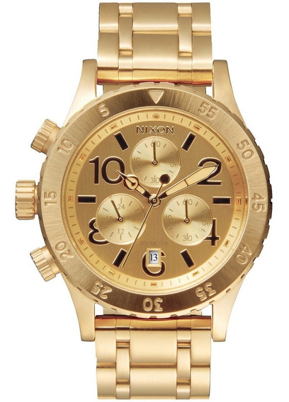Relógio Nixon 38-20 Chrono Dourado