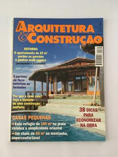Revista Arquitetura E Construção - Abril 1998 - Nº 132