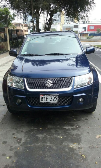 Suzuki Grand Vitara 2010, 4x4, 3 Puertas. Azul.