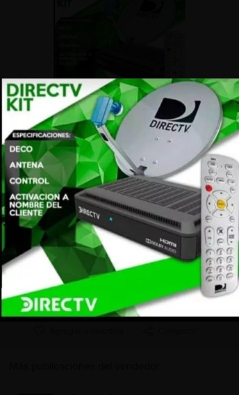Decodificador Directv Kit Hd Prepago Antena