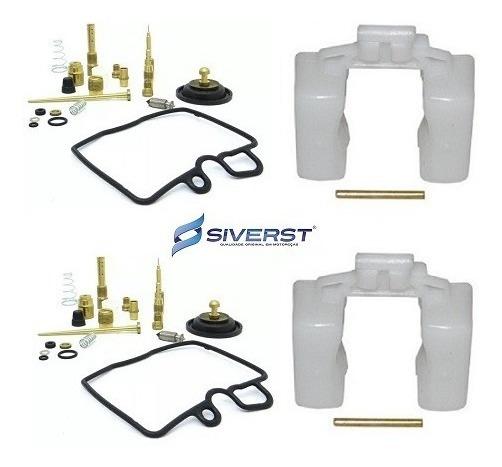 Kit Reparo Carburador + Boia (02 Pares) Siverst Cb 450