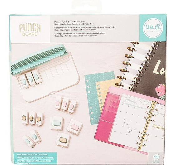Kit Planner Punch Board We R Memory Keepers