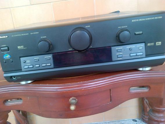 Planta Technics Sa-dx950 Con Control Remoto Original