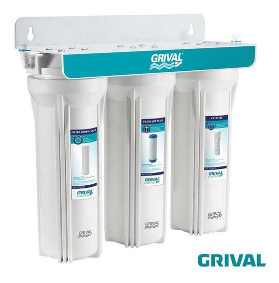 Filtro De Agua Grival De 3 Etapas Bajo Mesón
