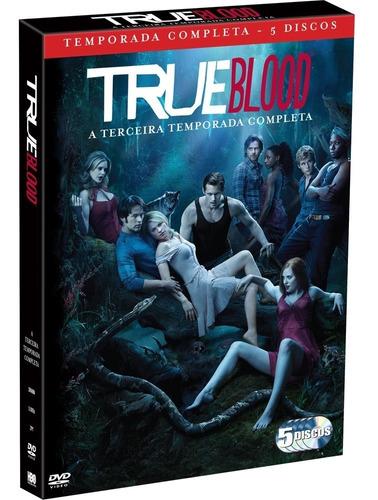Dvd Box 5 Discos True Blood 3ª Temporada