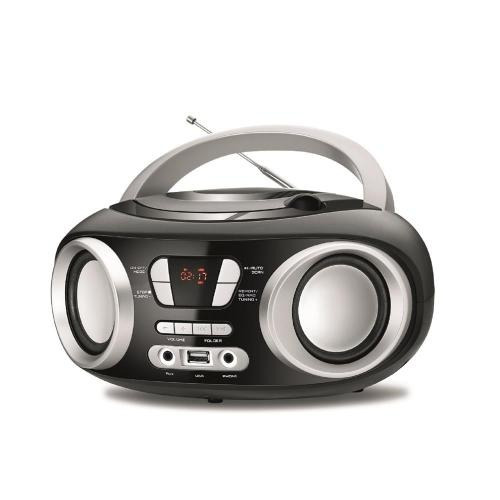Radio Mondial 6w Rms Cd Fm Mp3 Usb Displey Digital - 5161-01