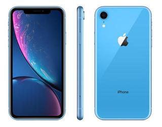 Celular Apple iPhone XR 256gb 3gb Ram 12mp Tela 6.1 Azul