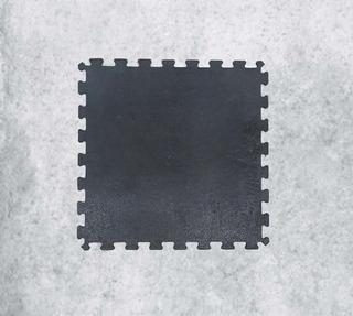 Paquete 10 Pz Tapete Para Gym Ensamblable 50cm X 50cm X 7mm