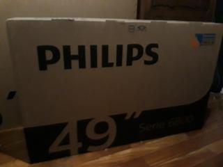 Tv Led 49¨ Philips Pug6801/77sm 4k Android Netflix Youtube