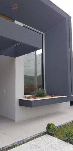 Imagem 1 de 16 de Casa À Venda, 176 M² Por R$ 870.000,00 - Residencial Terras Do Vale - Caçapava/sp - Ca3953