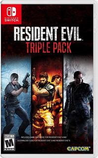 Resident Evil Triple Pack Nintendo Switch Nuevo Sellado