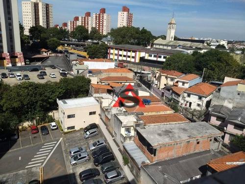 Apartamento Com 3 Dormitórios À Venda, 62 M² Por R$ 280.000,00 - Vila Das Mercês - São Paulo/sp - Ap43370