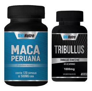 Mix Testosterona: Maca Peruana + Tribulus 1000mg - 100% Puro