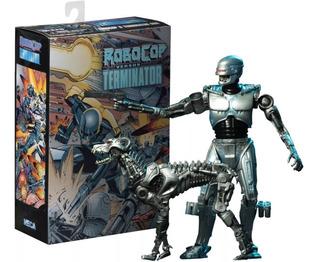Robocop Endocop Vs Terminator Dog Neca Original!!