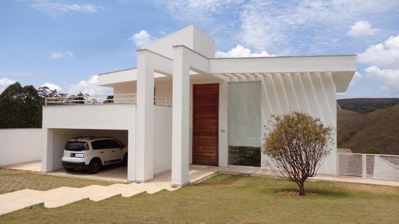 Casa Para Alugar 4 Quartos Em Alphaville - Nova Lima - Mg - 334
