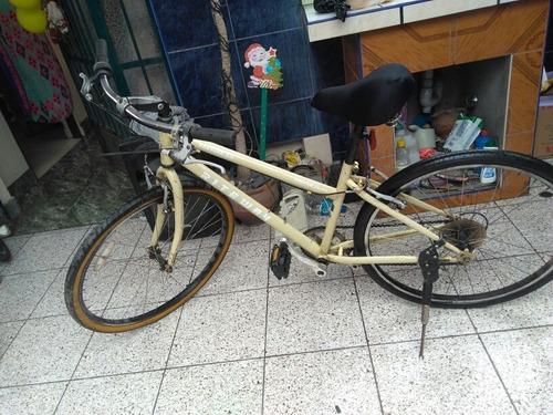 Imagen 1 de 10 de Bicicleta Híbrida De Cromo Molibdeno Made In Japan