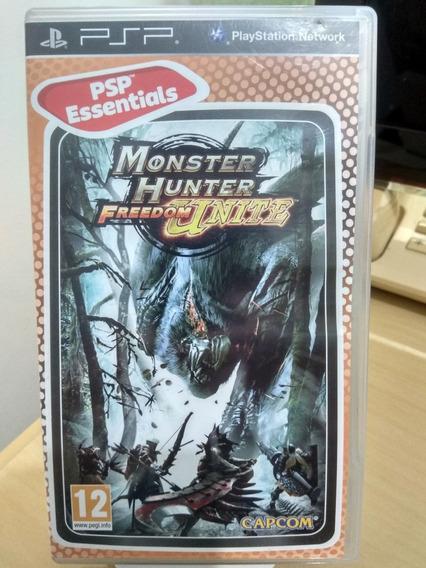 Monster Hunter Freedom Unite Psp Original Usado
