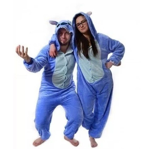 Pijama Stitch Kigurumi Kawaii Polar Entero Adulto