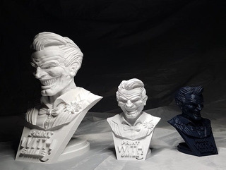 Joker Busto Impresión 3d