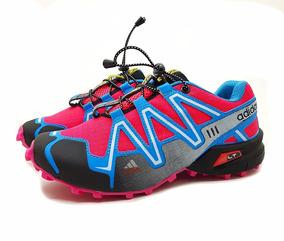Tênis Speedcross 3 4 Trava Feminino Corrida Caminhada Frete