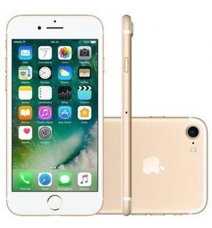 iPhone 7 32gb Gold 4g Desbloq Lacrado Apple Novo Garantia
