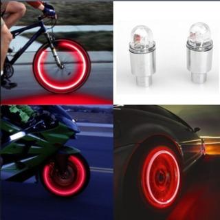 Luces Led Para Válvula De Neumático (moto, Auto, Bicicleta)
