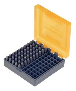 Caixa Munição Capacidade 100 Estojo Munição 22lr 25acp Sj619