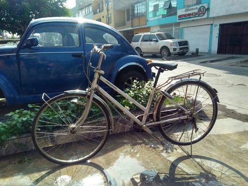 Imagen 1 de 7 de Bicicleta Con Cambios De Paseo Miyata Aro 26 Aluminio