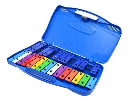 Xilofono 25 Teclas Colores C/ Estuche- Orich