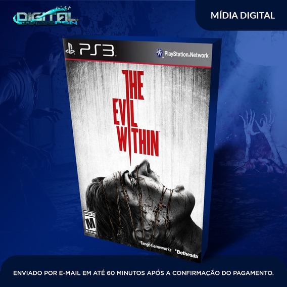 The Evil Within Ps3 Psn Midia Digital Em 10 Min! Original