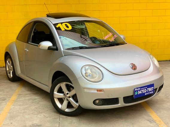 Volkswagen New Beetle Teto Solar Automático Tiptronic +couro