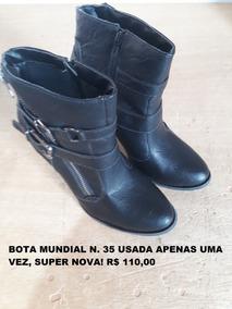 4894eb90cd2 Bota Mundial - Sapatos no Mercado Livre Brasil