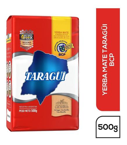 Imagen 1 de 1 de Yerba Mate Taragüi Bcp 4flex X500g