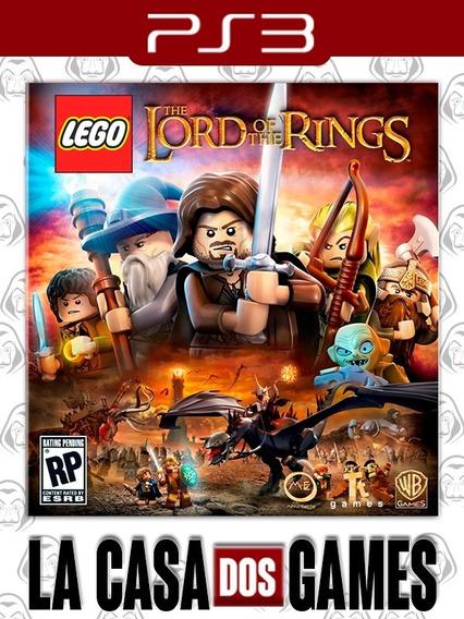 Lego O Senhor Dos Anéis - Psn Ps3 - Legendas Pt-br Envio Ja