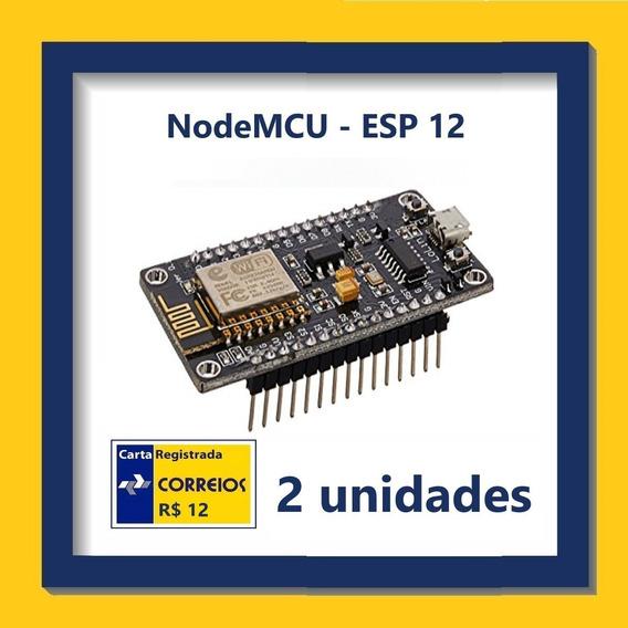 Módulo Wifi Nodemcu Esp-12 - Kit Com 2 Unidades