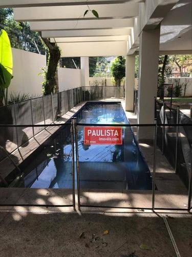 Casa Com 4 Dormitórios À Venda, 880 M² Por R$ 9.600.000,00 - Cidade Jardim - São Paulo/sp - Ca2729