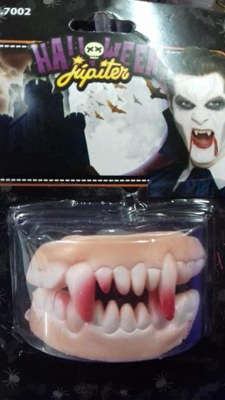 Dientes De Terror Dracula Halloween Cotillon Chirimbolos