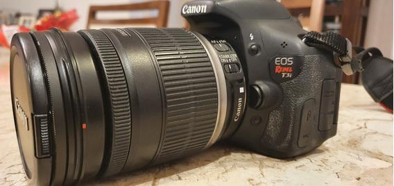 Camera Fotografica Canon T3i C/ Lentes 18-200 Mm