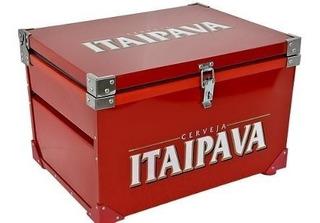 Caixa Térmica Itaipava Vermelha 90 Litros (promoção)