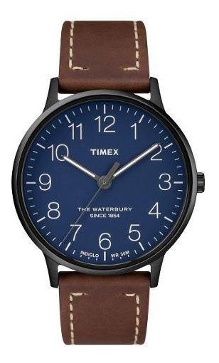 Reloj Timex Hombre Café Tw2r25700