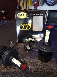 Luces Led Katd H4,c/blanco, 40w, 8000 Lm, Garantía 1 Año