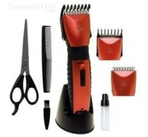 Máquina Cabelos ,barbas, Pente Repica Barbearias E Salões