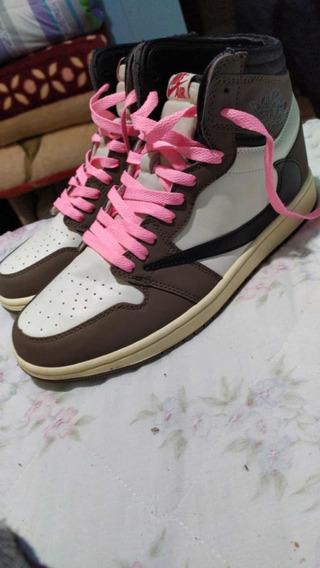 ~leia A Descrição~ Tenis Nike Air Jordan 1 Cactus Jack